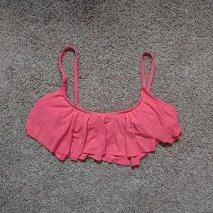 Old Navy Flounce Bikini Top